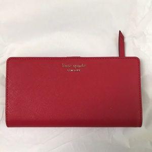 ♠️ Kate Spade hotchili Cameron snap wallet ♠️
